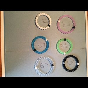 Jewelry - ONE BEADED SILICONE BRACELET WITH OR WITHOUT CHARM